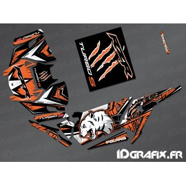Kit décoration Wolf Edition (Orange)- IDgrafix - Polaris RZR 1000 Turbo / Turbo S-idgrafix