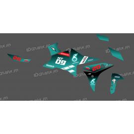 Kit de decoració Petronas GP d'Edició - Yamaha MT-09 Traçadors -idgrafix