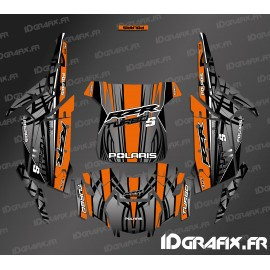 Kit decoration Titanium Edition (Orange)- IDgrafix - Polaris RZR 1000 Turbo / Turbo S - IDgrafix
