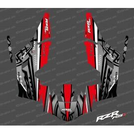 Kit dekor Titanium Edition (Rot)- IDgrafix - Polaris RZR RS1-idgrafix