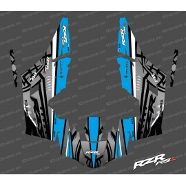 Kit dekor Titanium Edition (Blau)- IDgrafix - Polaris RZR RS1-idgrafix