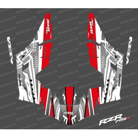 Kit decoration Titanium Edition (White/Red)- IDgrafix - Polaris RZR RS1-idgrafix