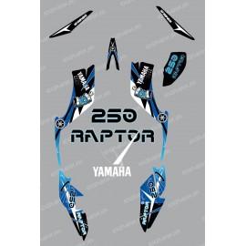 Kit de decoración de Espacio Azul - IDgrafix - Yamaha Raptor 250