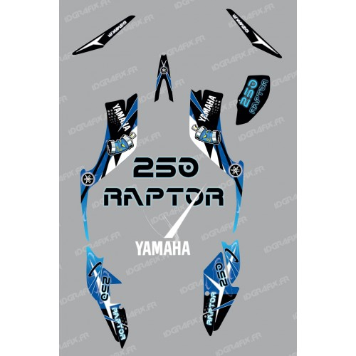 Kit decoration Space Blue - IDgrafix - Yamaha 250 Raptor