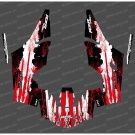 Kit dekor Titanium Edition (Weiß/Rot)- IDgrafix - Polaris RZR RS1 -idgrafix