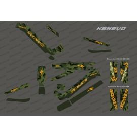 Kit déco Army Edition Full (Vert) - Specialized Kenevo (après 2020)-idgrafix