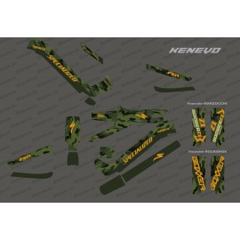 Kit deco Army Edition Full (Green) - Specialized Kenevo (after 2020)-idgrafix