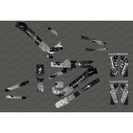 Kit deco Brush Edition Full (Grey) - Specialized Kenevo (after 2020)-idgrafix