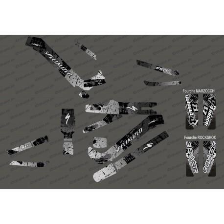 Kit deco Brush Edition Full (Grey) - Specialized Kenevo (after 2020) - IDgrafix