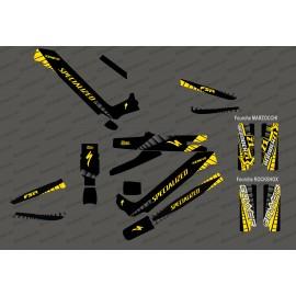 Kit deco GP Edition Full (Yellow) - Specialized Kenevo (after 2020)-idgrafix