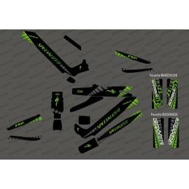 Kit deco GP Edizione Completa (Verde) - Specializzata Kenevo (dopo il 2020) -idgrafix