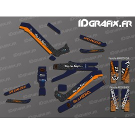 Kit-deco-TroyLee Design Edition Full (Blau/Rrange) - Specialized Kenevo (nach 2020)-idgrafix