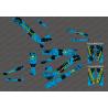 Kit deco Cepillo Edición Completa (Azul/Amarillo) - Especializado Kenevo (después de 2020)