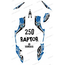 Kit de decoración de la Calle Azul - IDgrafix - Yamaha Raptor 250