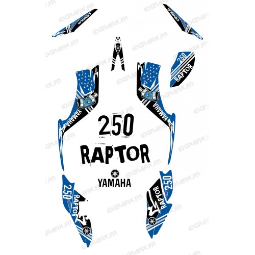 Kit decoration Street Blue - IDgrafix - Yamaha 250 Raptor
