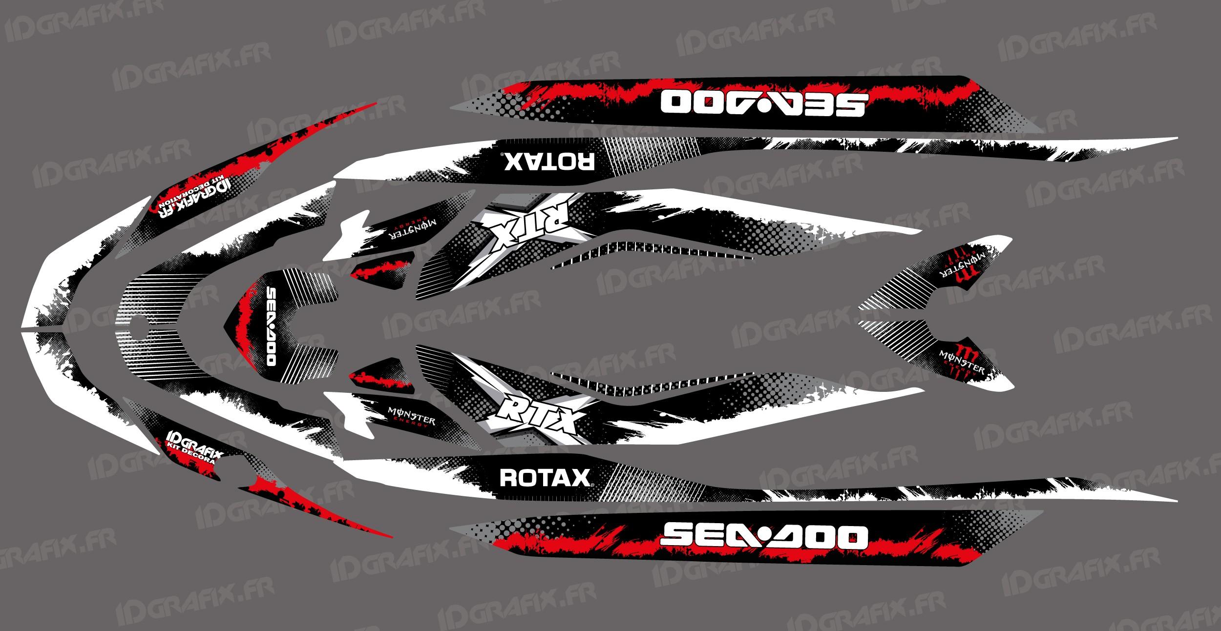 RXT 011 SEA-DOO RXT 260 JET SKI DECALS STICKERS GRAPHICS KIT