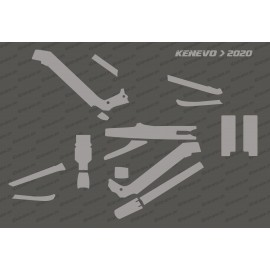 Kit Sticker Protection Full (Brillant ou Mat) - Specialized Kenevo (après 2020)-idgrafix