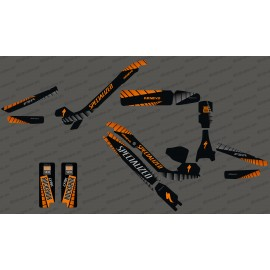 Kit deco GP Edition Full (Orange) - Specialized Kenevo - IDgrafix