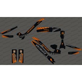 Kit deco GP Edizione Completa (Arancione) - Specializzata Kenevo -idgrafix