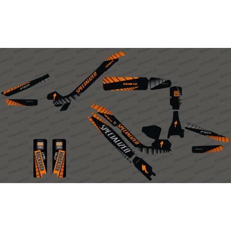 Kit deco GP Edició Completa (Taronja) - Especialitzada Kenevo -idgrafix
