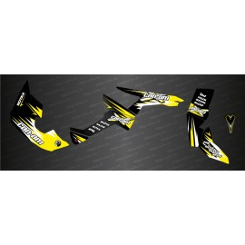 Kit de decoración de Carrera de la Serie Completa (Amarillo) - IDgrafix - Can Am Renegade -idgrafix