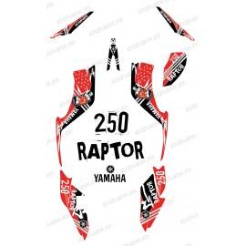 Kit décoration Street Rouge - IDgrafix - Yamaha 250 Raptor