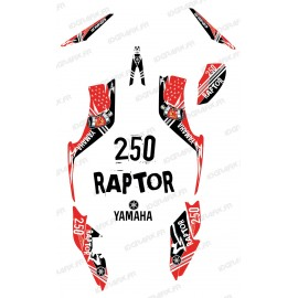 Kit decoration Street Red - IDgrafix - Yamaha 250 Raptor