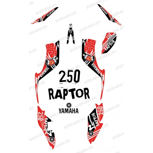 Kit de decoració Carrer Vermell - IDgrafix - Yamaha 250 Rapinyaire
