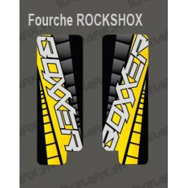 Stickers Protection Fork GP (Yellow) RockShox Boxxer - IDgrafix