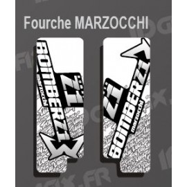 Stickers Protection Fork TroyLee (White) Marzocchi Bomber