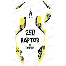 Kit de decoració Carrer Groc - IDgrafix - Yamaha 250 Rapinyaire