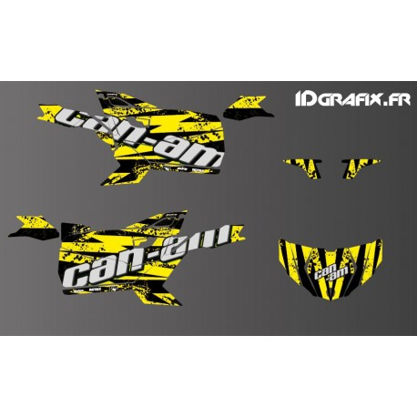 Kit decoration Splash Edition (Yellow) - Idgrafix - Can Am Maverick SPORT-idgrafix