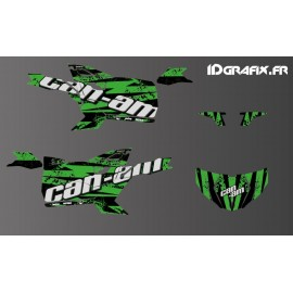 Kit de decoració Splash Edició (Verd) - Idgrafix - Can Am Maverick ESPORT -idgrafix