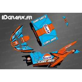 Kit decoration Gulf Edition - Idgrafix - Can Am Maverick X3