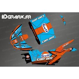 Kit dekor Gulf Edition - Idgrafix - Can Am Maverick X3-idgrafix