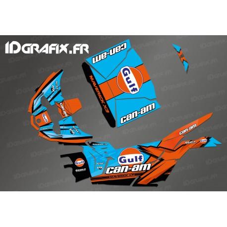 Kit decoration Gulf Edition - Idgrafix - Can Am Maverick X3-idgrafix
