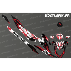 Kit decoration Splash Race Edition (Red) - Seadoo RXT-X 300 - IDgrafix