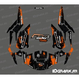 Kit decoration Spotof Edition (Orange)- IDgrafix - Polaris RZR 1000 Turbo
