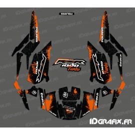 Kit dekor Spotof Edition (Orange)- IDgrafix - Polaris RZR 1000 Turbo