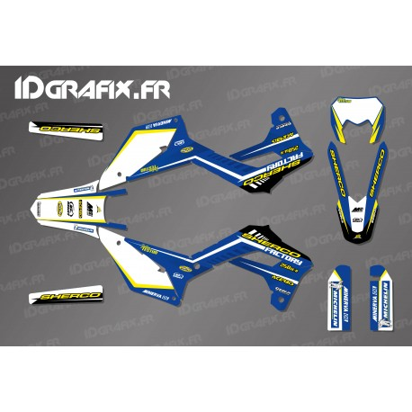 Kit decoration Blue Edition - Sherco 125-250-300-450 - IDgrafix