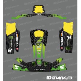 Kit deco 100% Personalizado Monstruo Verde para go-Karting KG CIK02 -idgrafix