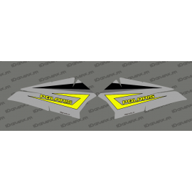 Kit dekor Tür-Bass, Original Polaris Grau/Schluff - IDgrafix - Polaris RZR 900/1000-idgrafix