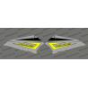 Kit dekor Tür-Bass, Original Polaris Grau/Schluff - IDgrafix - Polaris RZR 900/1000