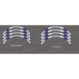 Radiolucent lines Felgen (x2) für Kawasaki KX -idgrafix