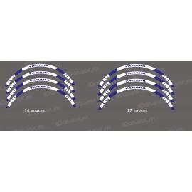 Liserets de Jantes (x2) pour Yamaha (14-17 pouces)-idgrafix