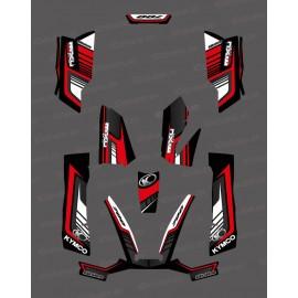 Kit Deco 700exi Limitado Rojo - Kymco 700 MXU -idgrafix