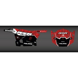 Kit de decoració XP1K Edició (Vermell) - IDgrafix - Polaris RZR 900 -idgrafix