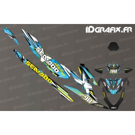 Kit decoration Drawing Edition (Blue) - Seadoo RXT-X 300 - IDgrafix