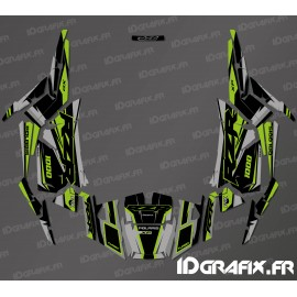 Kit decoration Factory Edition (Grey/Green)- IDgrafix - Polaris RZR 1000 S/XP-idgrafix