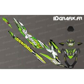 Kit décoration Monster Race Edition (Vert) - Seadoo RXT-X 300-idgrafix